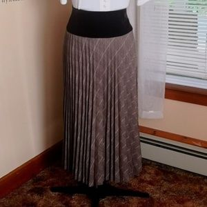 Vintage 1990s Accordion Pleated Skirt